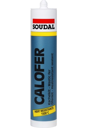 Soudal Calofer 1500 Derece Isıya Dayanıklı Mastik 310 ML.