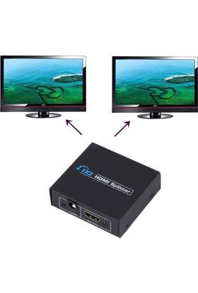 Alfais AL-4571 2 Port Hdmi Switch Splitter Ekran Çoklayıcı Çoğaltıcı