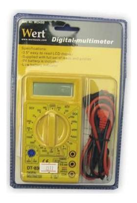 Wert Multimetre Dijital Ohmmeter, Ommetre
