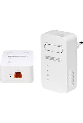 Totolink PLW350 KIT 150Mbps AV200 WiFi Powerline Extender Kit