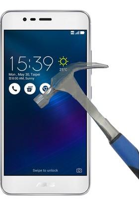 Teleplus Asus Zenfone 3 Zoom Zc553Kl Plastik Ve Cam Ekran Koruyucu Karışımı Cam Ekran Koruyucu