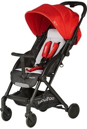 Baby2Go 6010 Puset Mojo Kırmızı Bebek Arabası
