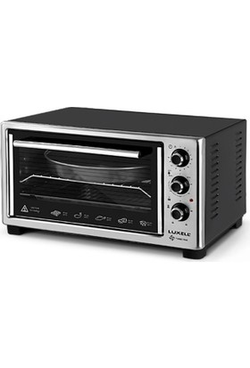 Luxell Lx-13575 40 Lt Siyah Mini Fırın