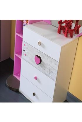 Özde Mobilya Sweet Şifonyer - 150 x 109 x 53 Cm