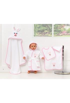Cozy&Comfy Bebek Seti Pembe Tavşan