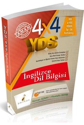 Pelikan Yayınları 4X4 Yds Seti 4. Kitap İngilizce Dilbilgisi - G.Günay