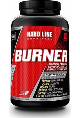 Hardline Nutrition Burner 120 Tablet +L-Carnitine Drink