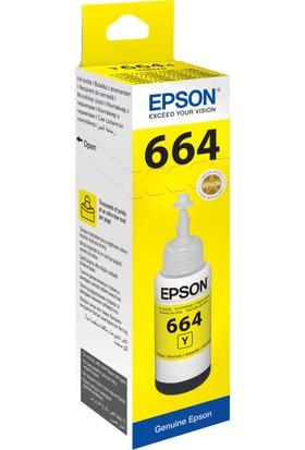 Epson T6644 L100/L200 70ml Sarı Mürekkep
