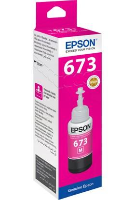 Epson T6733 L800 70ml Kırmızı Mürekkep Kartuş