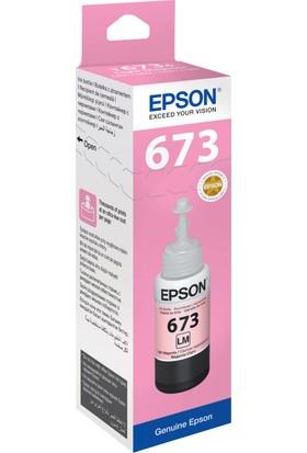 Epson T6736 L800 70ml Açık Kırmızı Mürekkep Kartuş