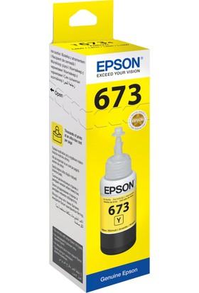 Epson T6734 L800 70ml Sarı Mürekkep Kartuş