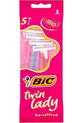 BIC Twin Lady 5'li Poşet