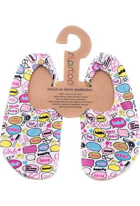 Slipstop Kız Çocuk Bubble Patik Renkli SS16110103