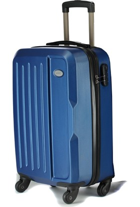 Wexta Çivit Mavi Kabin Boy Küçük Valiz WX210