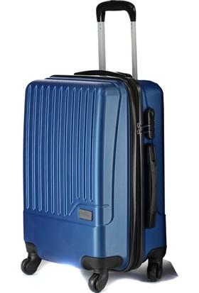 Wexta Çivit Mavi Kabin Boy Küçük Valiz WX230