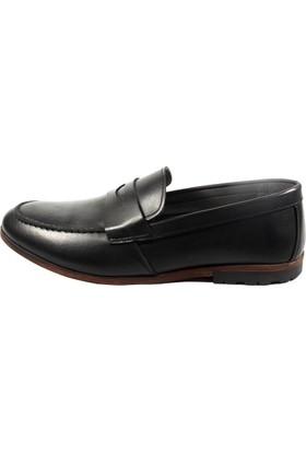 Commodore Sailor 267-283 Siyah Günlük Erkek Ayakkabı