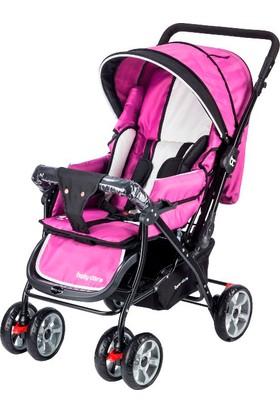 Baby Care Verso Çift Yönlü Bebek Arabası Lila