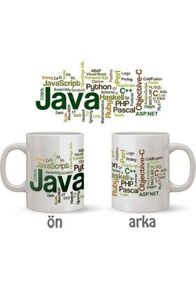 HediyeGerek Yazılım Dilleri Kupa Bardak