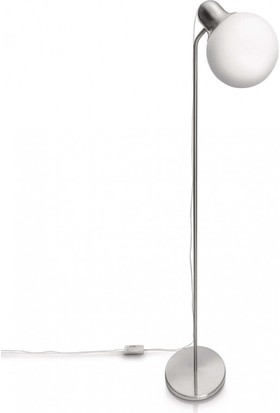 Philips Caress Floor Lamp Nickel 1X20W 230V
