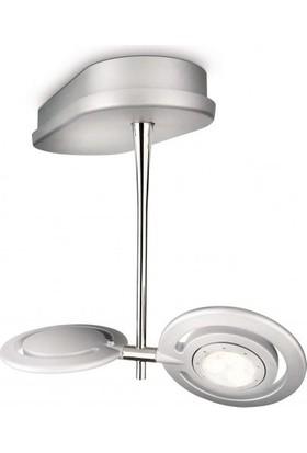 Philips Vaganza Plate/Spiral Led Aluminium 2X7.5