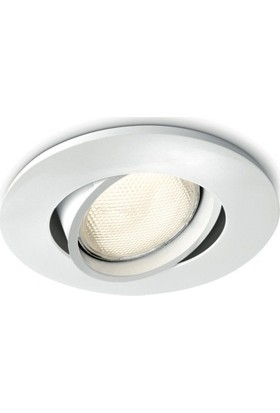 Philips Segin Recessed White 1X10W 230V