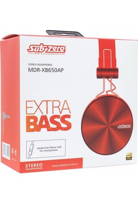 Subzero MDR-XB650AP Stereo Hi-Fi Kulaküstü Kablolu HD Kulaklık