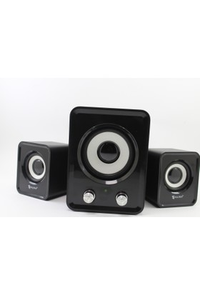 Fulltech FT-5703 2+1 Destekli Multimedia Speaker Ses Sistemi