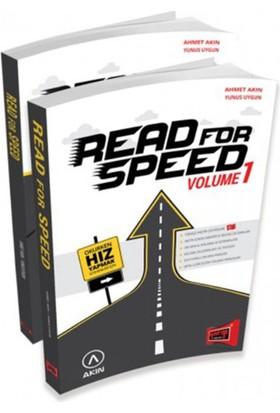 Yargı Yayınları 2017 Read For Speed (1 - 2 Kitap) - Ahmet Akın