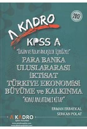 A Kadro Eğitim Kurumları Kpss A Para Banka-Uluslararası İkti - Erman Erbaykal