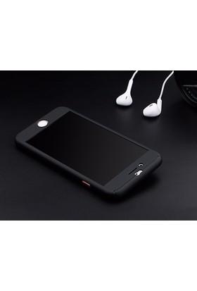 Qapak Apple iPhone 7 Plus 360 Derece Lüks Tam Koruma Kapak
