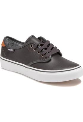 Vans Camden Deluxe Metalik Gri Kadın Sneaker