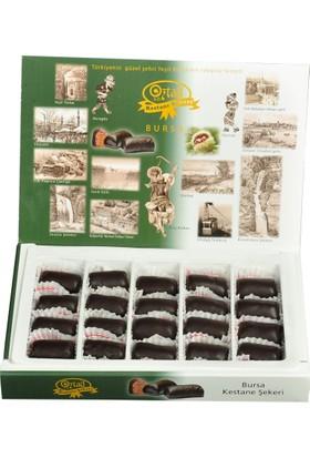 Öztad Orta Boy Hediyelik Çikolatalı Kestane Şekeri