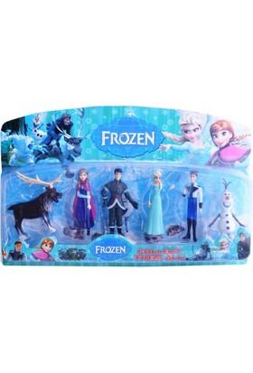 50bir Karlar Ülkesi Frozen 6'lı Figür Seti Dikey Kutu