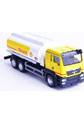 50bir Rmz City Shell Tanker Maket Araç (1:64)