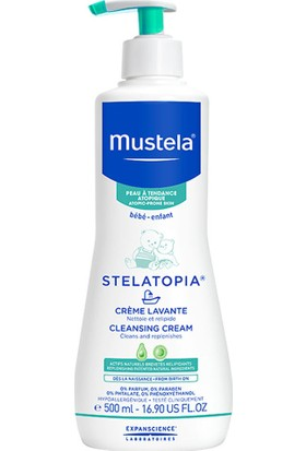 Mustela Stelatopia Cleansing Cream Şampuan 500 ml