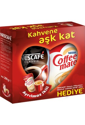 Nescafe Classic 200 gr + Coffee Mate 200 gr