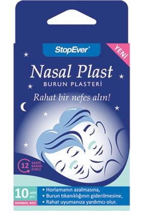 Stopever Nasal Plast Burun Plasteri Normal Boy