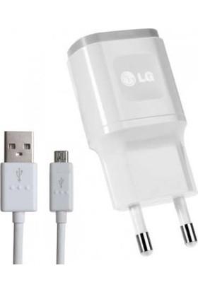 LG Şarj Cihazı + USB Kablo Beyaz - MCS-04ED/B (İthalatçı Garantili)