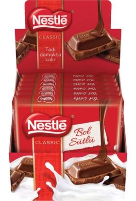 Nestle Sütlü Kare Tablet Çikolata 80 Gr