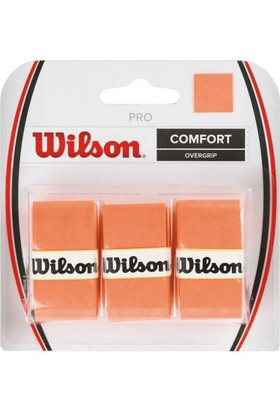 Wilson Tenis Raket Grip 3'lü - Pro Overgrip Orange ( WRZ4014OR )