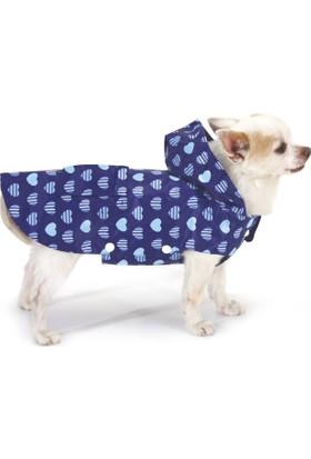 Croci Köpek Yağmurluk Blue Hearts
