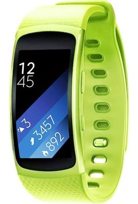 Case 4U Samsung Gear Fit 2 Silikon Kordon Yeşil (Normal Beden)