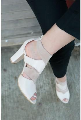 İnce Topuk Topuklu Ayakkabı 7YAZA0077276
