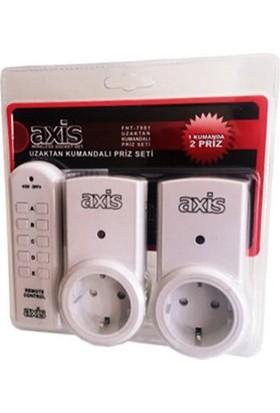 Axis Uzaktan Kumandalı Priz Set- LR-UK2