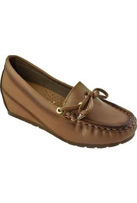 Tofima 116 Günlük Kadın Ayakkabı Taba