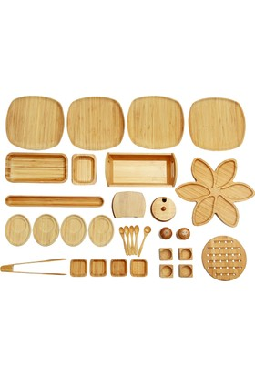 Bambum İkon - 33 Parça Kahvaltı Seti