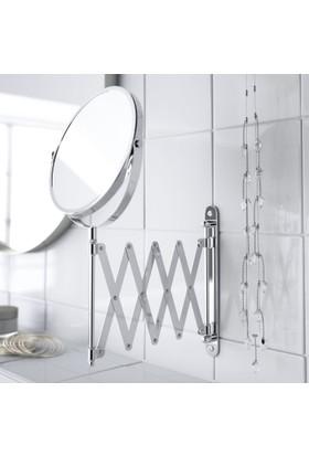 Axentia Körüklü Makyaj Aynası Büyüteçli Magnifying Wall Mirror