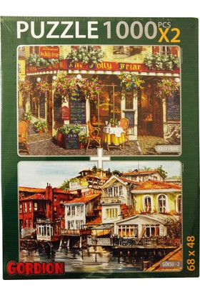Gordion Games Göksu 2 - Jolly Friar 2 x 1000 Puzzle