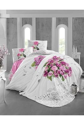 Lale Home Art Love Rose Pembe