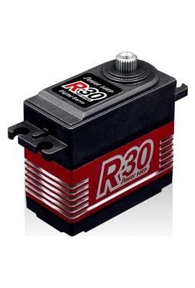 Powerhd Yüksek Voltaj Titanyum Dişlili Dijital Servo Motor - R30
